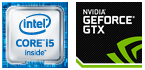 Intel Core i5、GeForce搭載