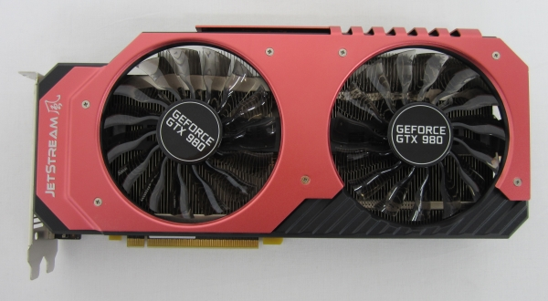 GeForce GTX 980 Super JetStreamのボディ